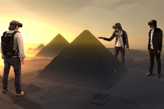 Virtual Reality tour of the Pyramid of Cheops