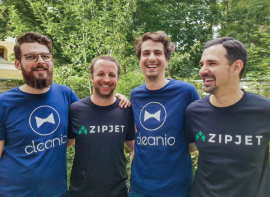 The on-demand laundry and dry cleaning startup Zipjet acquired French competitor Cleanio.