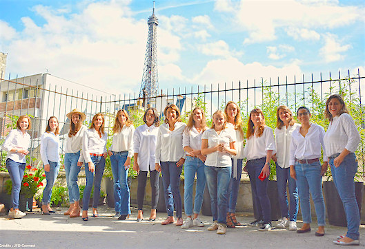 Female entrepreneurs in Paris