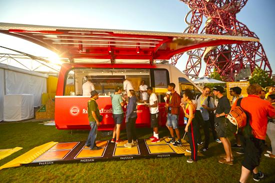 Shell Synergy Truck - Chef Ludo Lefebvre